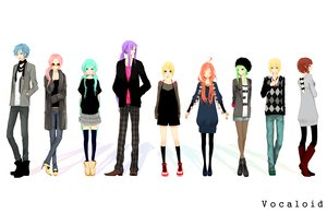 Rating: Safe Score: 142 Tags: blonde_hair blue_eyes blue_hair boots brown_eyes green_eyes green_hair group gumi hat hatsune_miku kagamine_len kagamine_rin kaito kamui_gakupo kneehighs long_hair male megurine_luka meiko miki_(vocaloid) pantyhose pink_hair ponytail purple_hair red_hair short_hair skirt sunglasses thighhighs tie twintails vocaloid white User: Tensa