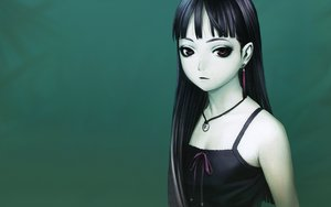 Rating: Safe Score: 56 Tags: black_hair green long_hair range_murata User: 秀悟