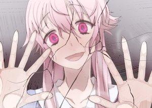 Rating: Safe Score: 127 Tags: gasai_yuno mirai_nikki miyamoto_issa pink_eyes pink_hair User: Lollipoppish