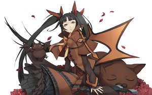Rating: Safe Score: 79 Tags: animal black_hair blazblue brown_eyes rachel_alucard tagme_(artist) twintails User: Shinigami-Seed