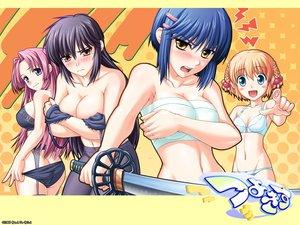 Rating: Questionable Score: 15 Tags: kanisawa_kinu kurogane_otome tsuyokiss_cool_x_sweet yashi_nagomi User: Oyashiro-sama