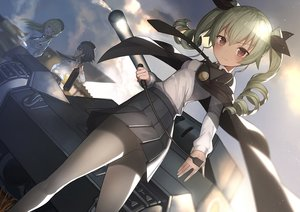 Rating: Safe Score: 117 Tags: anchovy carpaccio ccaw girls_und_panzer pepperoni_(girls_und_panzer) User: Flandre93