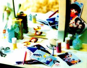 Rating: Safe Score: 8 Tags: cigarette dress hachi mirror nana nana_(series) osaki_nana realistic reflection User: Rebecca