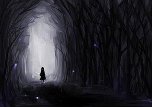 Rating: Safe Score: 194 Tags: black dark feesh forest original silhouette tree User: HawthorneKitty