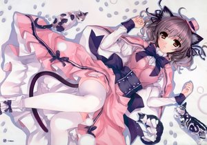 Rating: Safe Score: 56 Tags: animal cat catgirl misaki_kurehito User: luckyluna