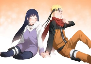Rating: Safe Score: 70 Tags: black_hair blonde_hair gradient headband hoodie hyuuga_hinata long_hair male mido_(mimizuku-hukuro) naruto scarf short_hair uzumaki_naruto User: FormX