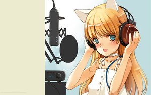 Rating: Safe Score: 12 Tags: animal_ears catgirl headphones littlewitch oyari_ashito User: 秀悟