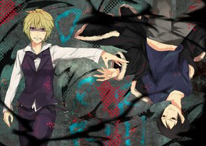 Rating: Safe Score: 38 Tags: durarara!! heiwajima_shizuo orihara_izaya User: MidBoss