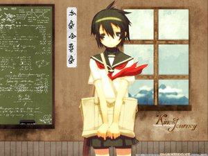 Rating: Safe Score: 10 Tags: gakuen_kino kino kino_no_tabi kuroboshi_kouhaku User: Oyashiro-sama