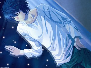 Rating: Safe Score: 19 Tags: all_male death_note l male User: scarletwolf963