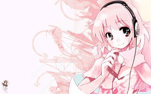 Rating: Safe Score: 97 Tags: animated headphones pink ushiki_yoshitaka User: 秀悟