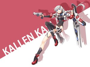 Rating: Safe Score: 35 Tags: cross_akiha honkai_impact kallen_kaslana User: RyuZU