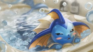 Rating: Safe Score: 32 Tags: bath bathtub blush bubbles cat_smile nobody pokemon supearibu vaporeon watermark User: otaku_emmy