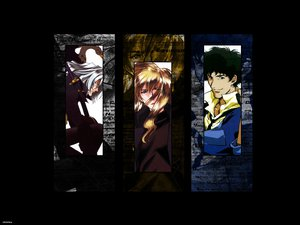 Rating: Safe Score: 7 Tags: cowboy_bebop julia spike_spiegel vicious User: Oyashiro-sama