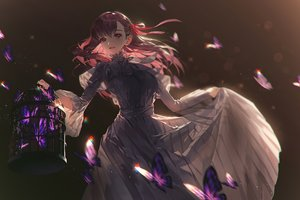 Rating: Safe Score: 75 Tags: butterfly cage fajyobore323 fate_(series) fate/stay_night gradient long_hair matou_sakura User: Dreista