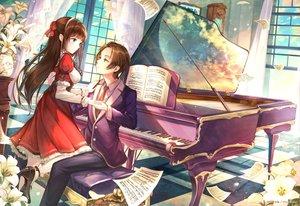 Rating: Safe Score: 36 Tags: instrument male moemi_tobi music original paper piano User: RyuZU