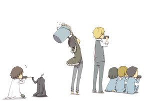 Rating: Safe Score: 66 Tags: black_hair blonde_hair brown_hair celty_sturluson drink durarara!! group heiwajima_shizuo kida_masaomi kishitani_shinra male orihara_izaya ryuugamine_mikado short_hair sonohara_anri white User: Katsumi