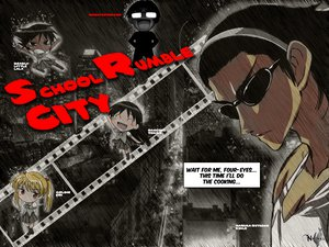 Rating: Safe Score: 7 Tags: harima_kenji school_rumble User: MarySan