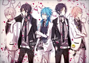Rating: Safe Score: 70 Tags: aliasing all_male clear_(dramatical_murder) dramatical_murder koujaku_(dramatical_murder) male moco_(chaton315) noiz_(dramatical_murder) petals seragaki_aoba suit tagme_(character) User: MissBMoon