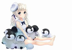 Rating: Safe Score: 41 Tags: animal loli neki_(wakiko) original penguin scan User: mattiasc02