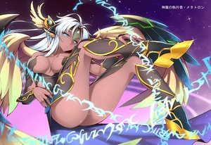Rating: Safe Score: 138 Tags: blue_eyes boots breasts dark_angel_metatron_(p&d) dean long_hair puzzle_&_dragons white_hair wings User: Wiresetc