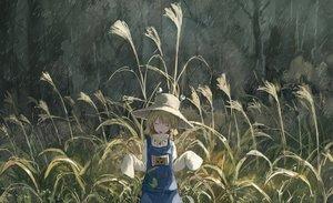Rating: Safe Score: 68 Tags: grass moriya_suwako rain touhou water yuu-rin User: FormX