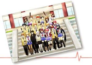 Rating: Safe Score: 52 Tags: angel_beats! chaa fish_saito fujimaki group hinata_hideki hisako irie_miyuki iwasawa_masami matsushita nakamura_yuri naoi_ayato noda ooyama otonashi_yuzuru sekine_shiori shiina tachibana_kanade takamatsu takeyama tk yui_(angel_beats!) yusa User: Tensa