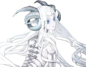 Rating: Safe Score: 51 Tags: blue_eyes horns long_hair original pointed_ears polychromatic tobacco_(tabakokobata) white white_hair User: otaku_emmy
