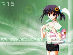 Rating: Safe Score: 2 Tags: nanao_naru rainbow_colored_icecream User: Oyashiro-sama