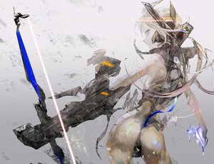 Rating: Safe Score: 190 Tags: bow_(weapon) kazutaka original tagme weapon User: opai
