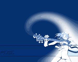 Rating: Safe Score: 3 Tags: blue flcl guitar instrument User: Oyashiro-sama