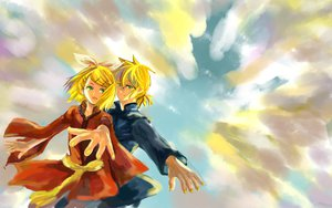 Rating: Safe Score: 24 Tags: kagamine_len kagamine_rin vocaloid User: BoobMaster