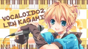 Rating: Safe Score: 30 Tags: all_male collar kagamine_len male microphone uutan vocaloid User: FormX