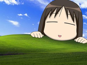 Rating: Safe Score: 32 Tags: azumanga_daioh jpeg_artifacts kasuga_ayumu parody windows User: Oyashiro-sama