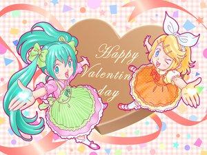 Rating: Safe Score: 9 Tags: candy chocolate hata_hata hatsune_miku heart kagamine_rin valentine vocaloid User: jjj14
