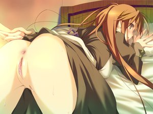 Rating: Explicit Score: 592 Tags: ass blush butthole happy_magarette long_hair nopan uncensored vagina User: rayrei