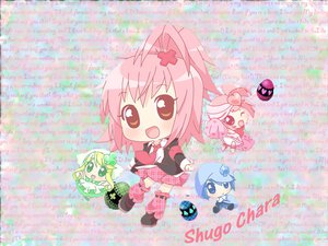 Rating: Safe Score: 6 Tags: hinamori_amu miki_(shugo_chara) peach-pit pink_hair ran_(shugo_chara) shugo_chara suu_(shugo_chara) yellow_eyes User: atlantiza