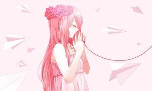 Rating: Safe Score: 90 Tags: just_be_friends_(vocaloid) megurine_luka savi_(byakushimc) vocaloid User: luckyluna