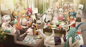 Rating: Safe Score: 73 Tags: alina_(arknights) animal_ears arknights breasts ch'en_(arknights) chinese_clothes chinese_dress cleavage dress food horns hoshiguma_(arknights) lin_yuhsia_(arknights) long_hair male pantyhose princess_fumizuki_(arknights) rat_king_(arknights) shirayuki_(arknights) short_hair snowsant_(arknights) songchuan_li swire_(arknights) tagme tail talulah_(arknights) watermark wei_yenwu_(arknights) User: Dreista