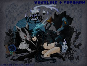 Rating: Safe Score: 106 Tags: black_rock_shooter chandelure crossover flowers kuroi_mato litwick luxray pokemon rose umbreon User: Elyse