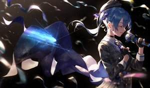 Rating: Safe Score: 82 Tags: blue_hair hololive hoshimachi_suisei long_hair microphone takubon twintails User: BattlequeenYume