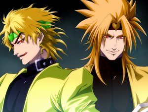 Rating: Safe Score: 15 Tags: all_male blonde_hair dio_brando headband jojo_no_kimyou_na_bouken male red_eyes tagme_(artist) User: otaku_emmy