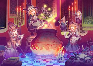 Rating: Safe Score: 65 Tags: alice_margatroid doll final_fantasy kirisame_marisa mage magic patchouli_knowledge tagme touhou witch zounose User: opai
