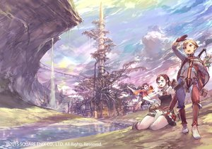 Rating: Safe Score: 75 Tags: apple blonde_hair boots building clouds glasses jikan_hakushaku landscape pointed_ears red_eyes scenic short_hair sky water waterfall watermark User: Flandre93