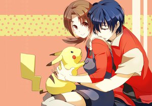 Rating: Safe Score: 50 Tags: hibiki kotone_(pokemon) pikachu pokemon tagme_(artist) User: vitoxela