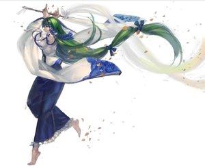 Rating: Safe Score: 87 Tags: green_hair japanese_clothes kishiyo kochiya_sanae long_hair miko touhou User: FormX