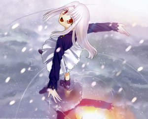 Rating: Safe Score: 6 Tags: fate/stay_night illyasviel_von_einzbern snow type-moon water User: Oyashiro-sama