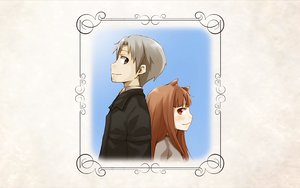 Rating: Safe Score: 8 Tags: animal_ears brown_hair craft_lawrence gray_eyes gray_hair horo long_hair red_eyes short_hair spice_and_wolf white wolfgirl User: wanjas