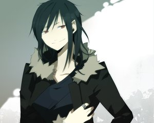 Rating: Safe Score: 12 Tags: black_hair durarara!! long_hair orihara_izaya red_eyes User: Tensa