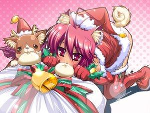 Rating: Safe Score: 19 Tags: christmas doggirl hat panties santa_costume santa_hat tagme underwear User: Oyashiro-sama